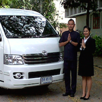 Private overland day tour minibus and guide at disposal throughout Thailand