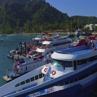 Andaman Wave Ferry Phuket to Phi Phi, Krabi or Lanta