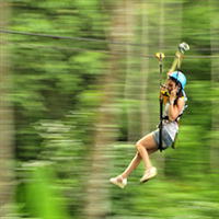 Zipline adventure in the Mae Sa Valley