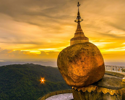 Private Transfer from Yangon to Kyaikto - Golden Rock