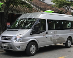 Private transfer from Hotel in Hoi An to Danang