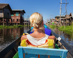 Private full day boat rental on the Inle Lake