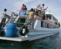Ferry Koh Jum to Aonang, Railey Beach or Koh Lanta