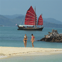 Phang Nga Bay by Siamese Junk, June Bahtra - Join Tour