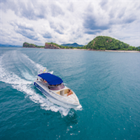 Joined speedboat from Koh Kood to Koh Mak or Koh Chang