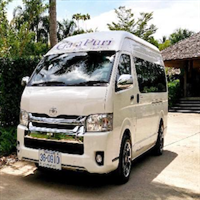 Joined bus transfer from Krabi to Koh Lanta