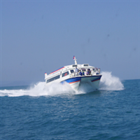 Ferry from Sihanoukville to Koh Rong or Koh Rong Samloen or v.v.