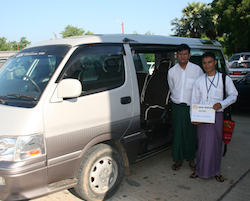 Private Transfer Mandalay to Hsipaw