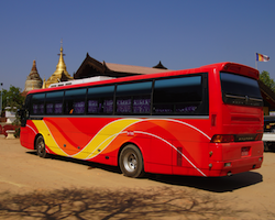Overnight Bus from Mandalay to Yangon, Kalaw or Nyaung Swe (Inle lake)