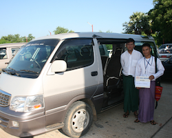 Private Transfer Mandalay Airport to hotel, pier or bus station or v.v.
