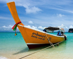 Boat transfer from Koh Ngai to Pak Meng Pier Trang