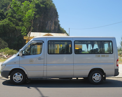 Private transfer Ninh Binh Train station to Tam Coc or Trang An or v.v.