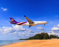 Air ticket from Phuket to Bangkok or Chiang Mai