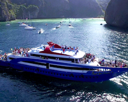 Andaman Wave Ferry Phi Phi to  Phuket, Krabi or Koh Lanta
