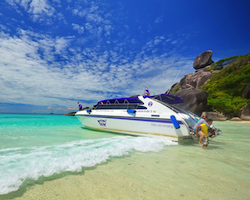 Full day trip to the Similan Islands from Khao Lak - joined