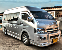 Transfer from Pak Bara pier to Hat Yai, Trang, Krabi or Phuket
