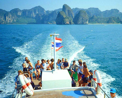 Boat transfer Koh Mook to Koh Ngai, Lanta and other places