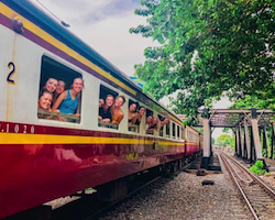 Day train from Chiang Mai