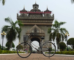 Private overland transfer from Vientiane to Nongkhai