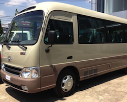 Joined open bus transfer from Nha Trang to Phan Thiet or Mui Ne