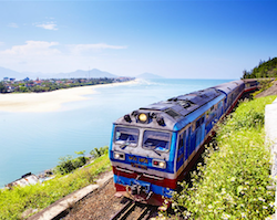 Night train from Nha Trang to Ho Chi Minh City