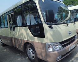 Joined open bus transfer from Nha Trang to Da Lat