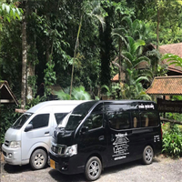 Private Transfer Khao Sok to Surat Thani train, airport or  Don Sak Pier