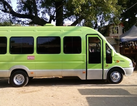 Joined bus Mandalay to Bagan (Nyaung-U) or Hsipaw