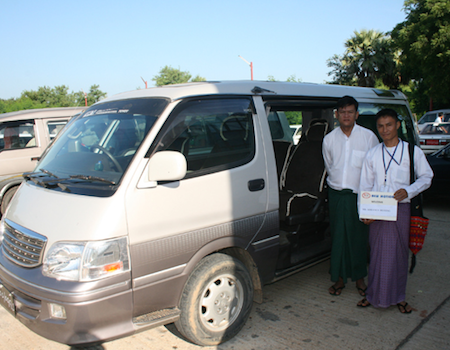 Private transfer from Bagan to Mandalay