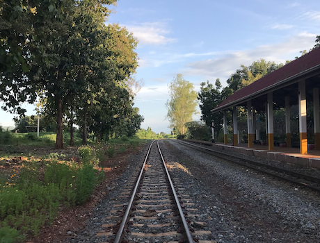 Night Train from Ayutthaya to Chiang Mai