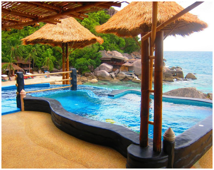 Charm churee villa resort and spa koh tao for Koi pool villa koh tao