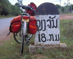 Cycling Half Day Tour in Vientiane