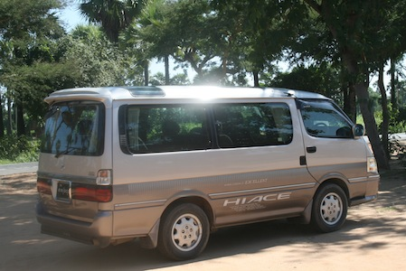 Private transfer Kompong Thom to Siem Reap, Kratie or Phnom Phen