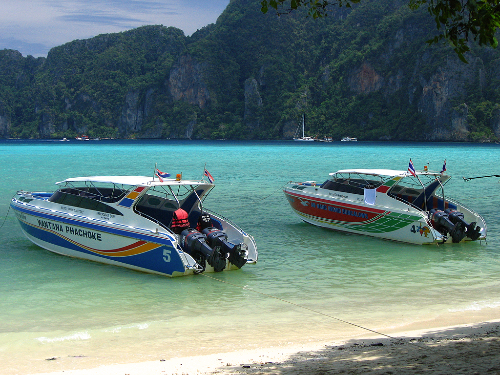Join speed boat transfer from Koh Kood to Koh Mak